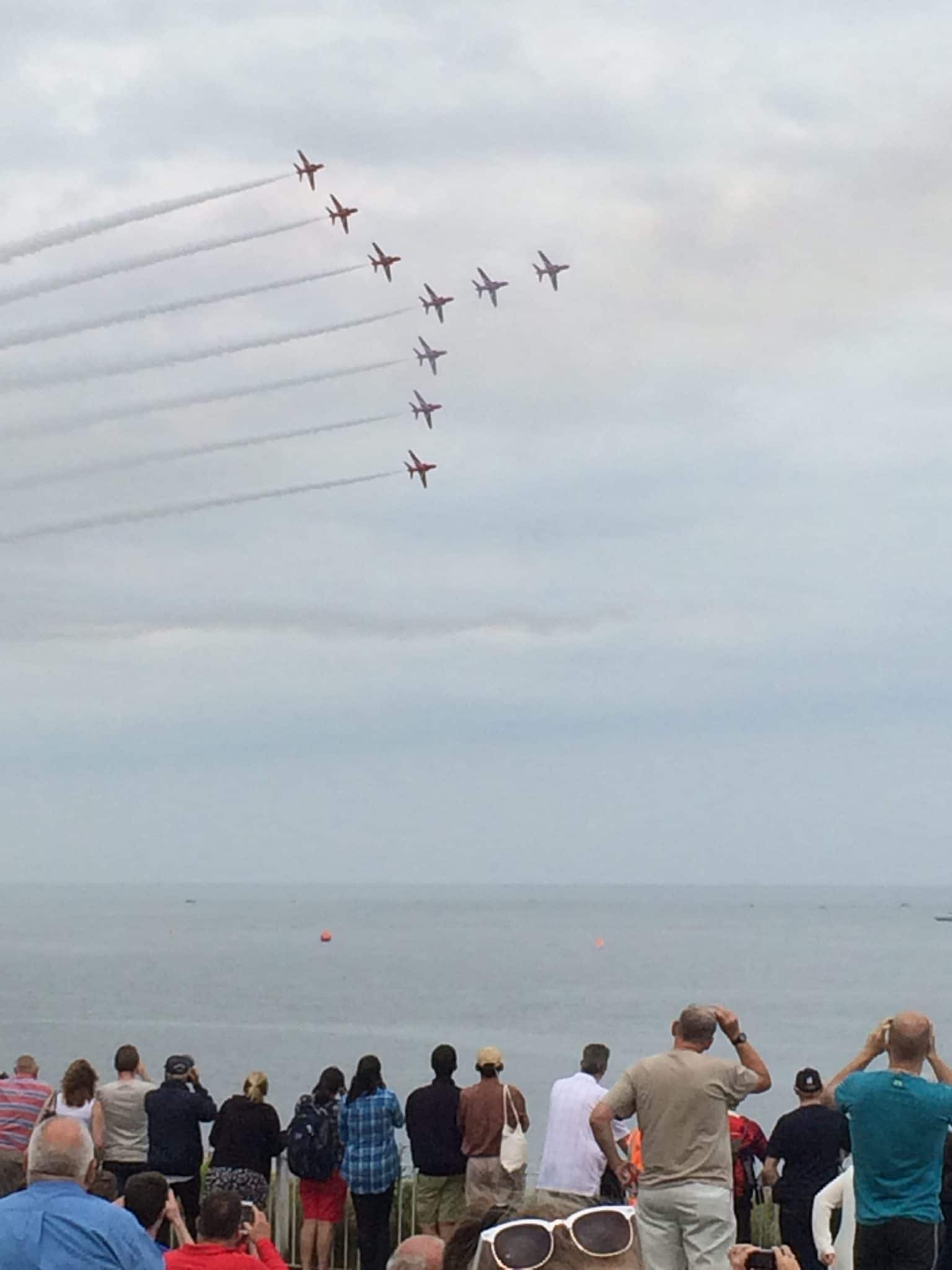 The Red Arrows - Sunderland Airshow