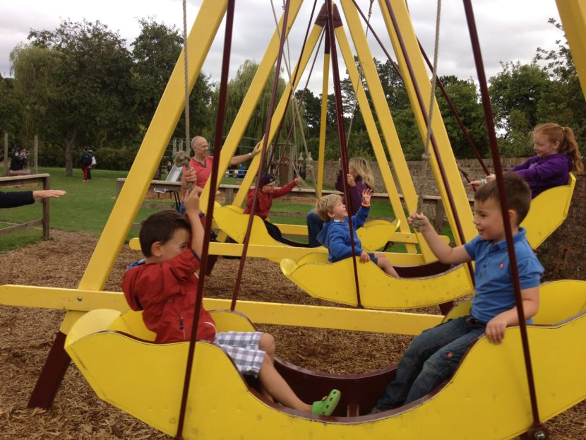Newby Hall Swings