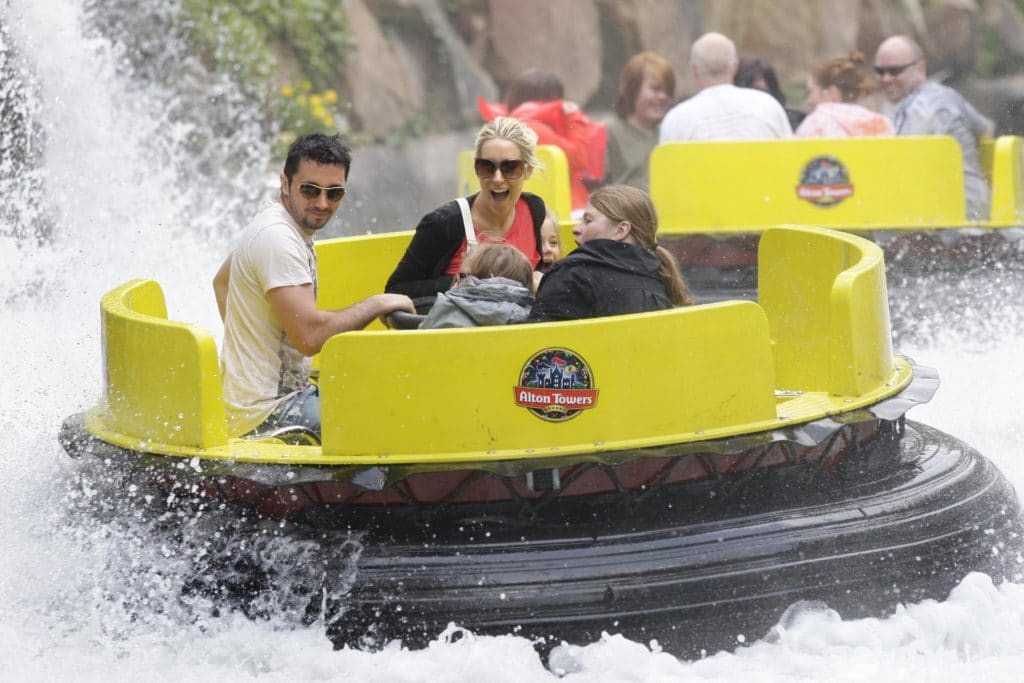 Alton Towers - River Rapids