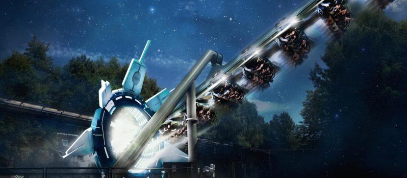 Galactica - Alton Towers Resort
