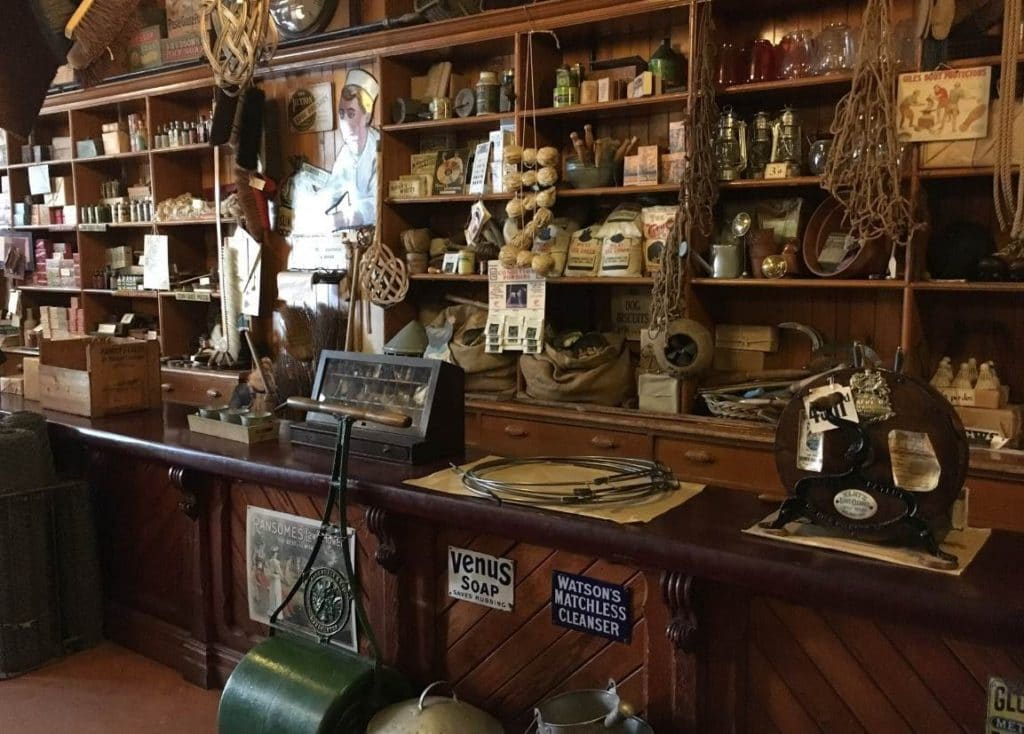 Beamish Museum - Co-Op Store interior