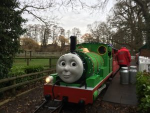 Christmas at Drayton Manor - Ride on Percy