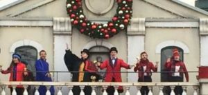 Christmas at Drayton Manor - Thomas Land Balcony Show