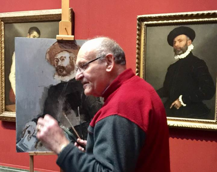 National-Gallery-Artist-at-work