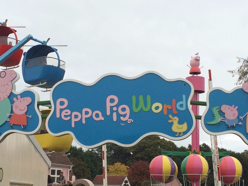 Paultons-Park-Entrance-to-Peppa-Pig-World