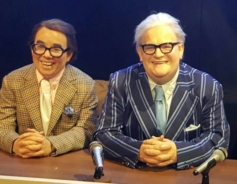 Madame-Tussauds-Blackpool-The-Two-Ronnies