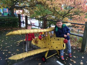 Legoland Windsor Resort - Model Lego Aeroplane