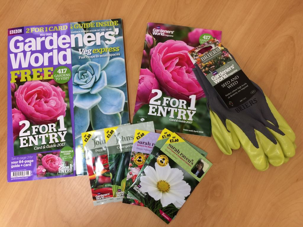 Gardeners World - Two For One Entry to over 400 Attractions