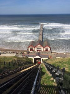 Saltburn Cliff Tramway - View from the top