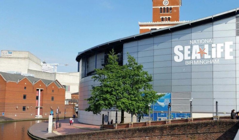 National-SEA-LIFE-Centre-Birmingham-Exterior