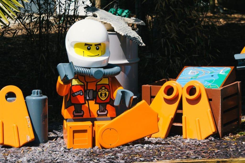 LEGO City Coastguard HQ at the LEGOLAND Windsor Resort