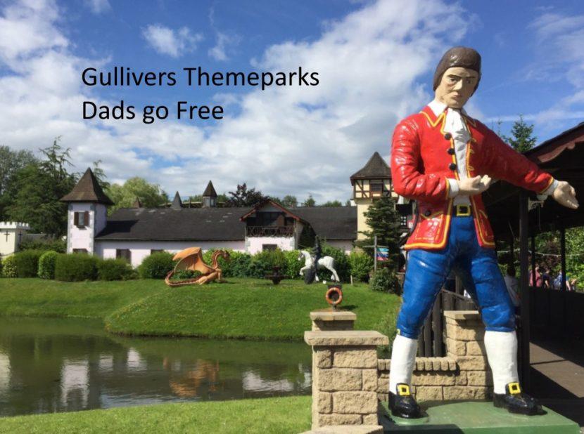 Gullivers Dads go Free 2017
