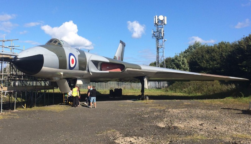 North-East-Land-Sea-and-Air-Museums-Vulcan-Bomber