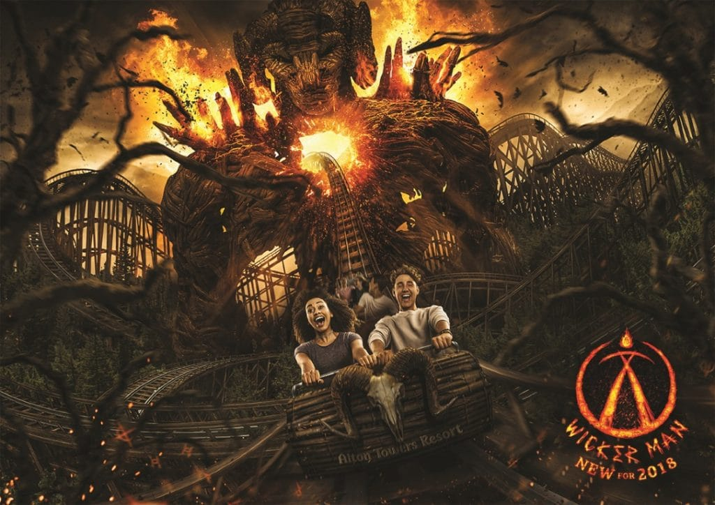Alton Towers - Wicker Man