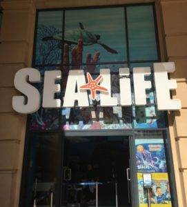 SEALIFE Manchester - Front Entrance