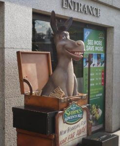Shreks Adventure - Front Entrance