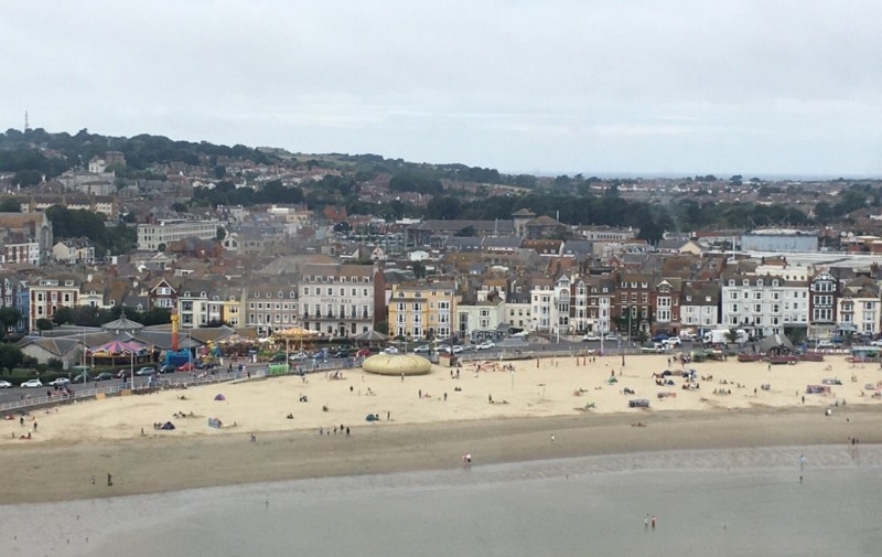 Jurassic-Skyline-View-of-Weymouth-Beach
