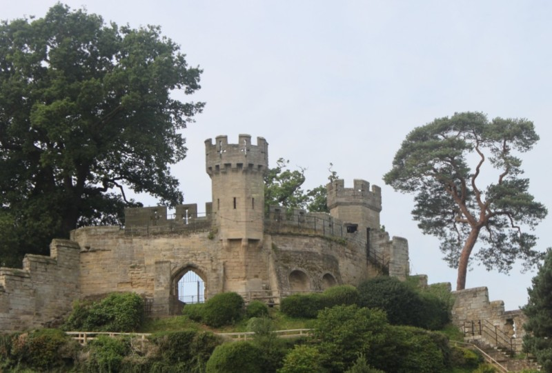 Warwick-Castle-Turrets