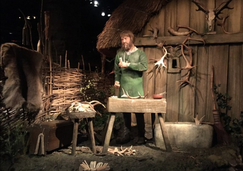 JORVIK-Viking-Centre-Viking-Constucting-Tools-using-Antlers