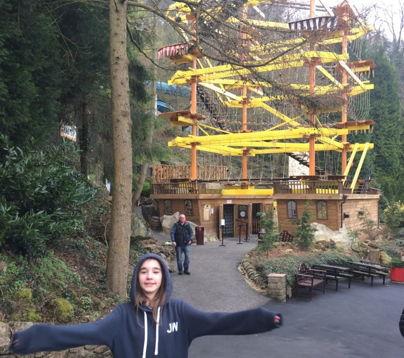 Gullivers-Kingdom-Matlock-Bath-Crows-Nest-High-Ropes-Course