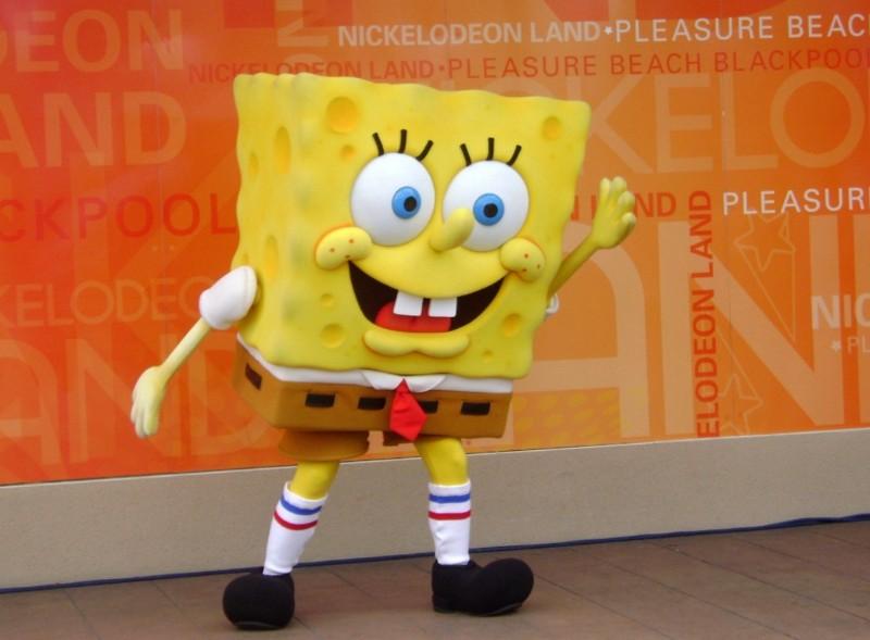 Blackpool-Pleasure-Beach-Sponge-Bob-Squarepants