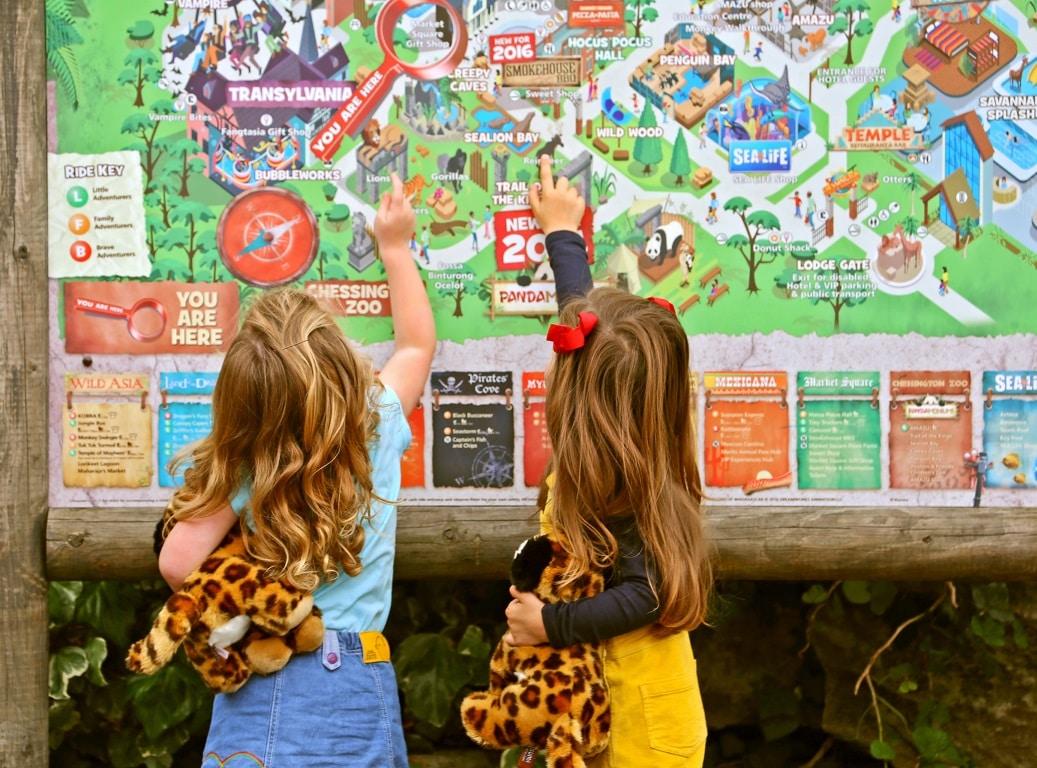 Chessington World of Adventures Resort Map